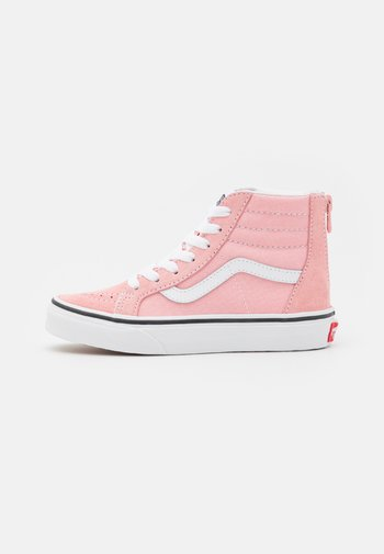 SK8 ZIP - High-top trainers - powder pink/true white