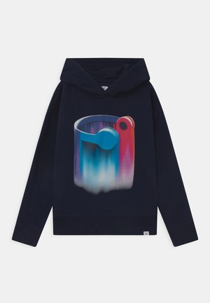 BOY GRAPHIC HOOD - Sweatshirt - tapestry navy