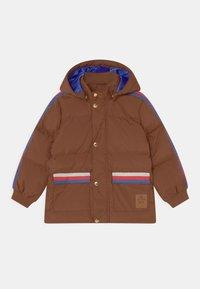 Mini Rodini - PICO PUFFER UNISEX - Winter coat - brown - 0