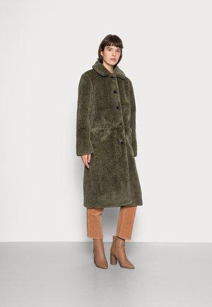 MOUSSY COAT - Winter coat - ivy green