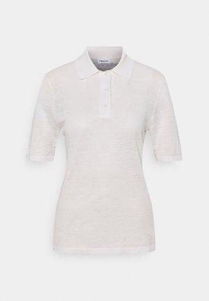 ANGELINE - Koszulka polo - white chal