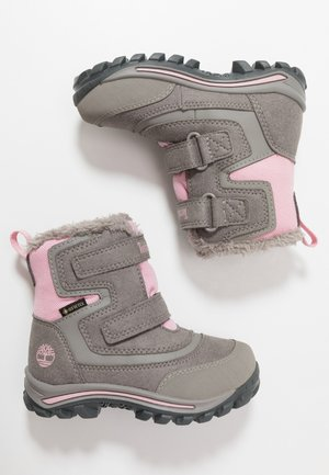 CHILLBERG 2-STRAP GTX - Talvisaappaat - medium grey