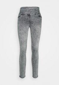 Patrizia Pepe - Jeans Skinny Fit - acid grey wash - 0