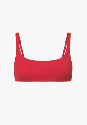 Bikini top - red