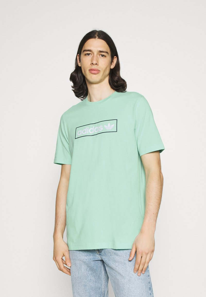 adidas Originals - LINEAR LOGO TEE - T-shirt con stampa - clear mint
