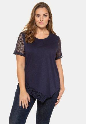Basic T-shirt - nachtblau