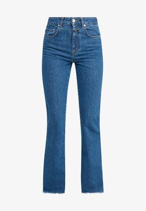 LEAF - Široké džíny - mid blue