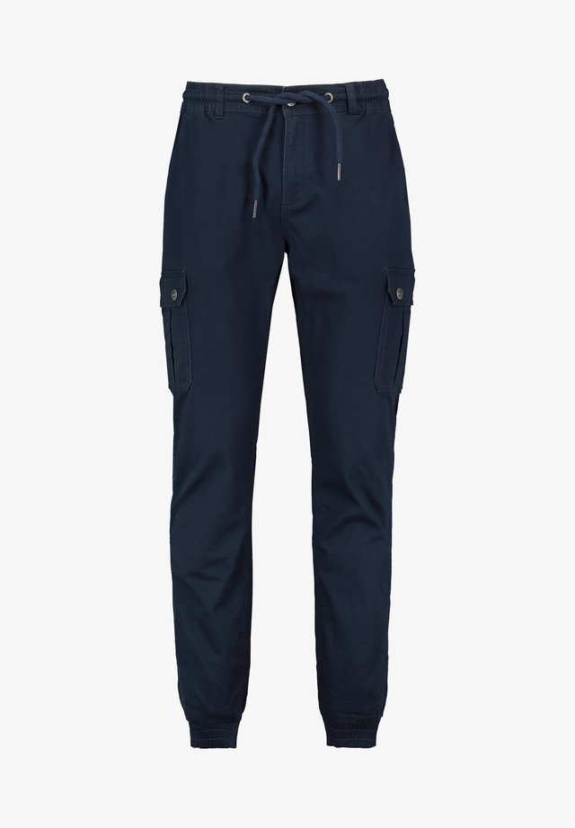Cargo trousers - dark-blue
