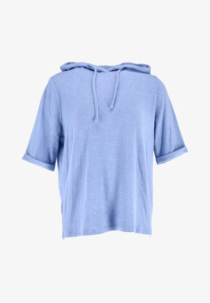 Opus - Long sleeved top - blau