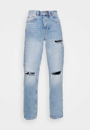HIGH WAIST - Relaxed fit jeans - light vintage