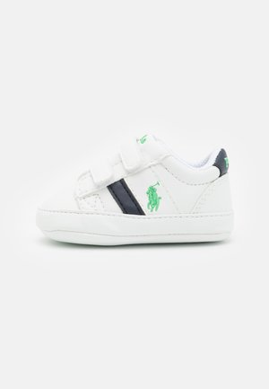OAKVIEW LAYETTE UNISEX - Babyschoenen - white/navy/green