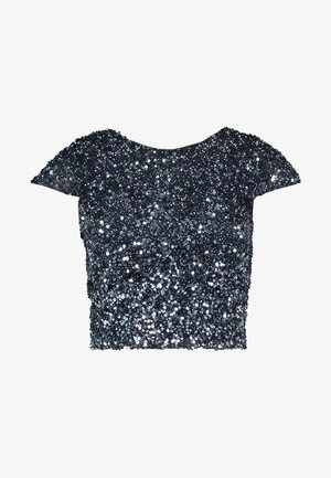 MERMAID - Bluse - navy/silver