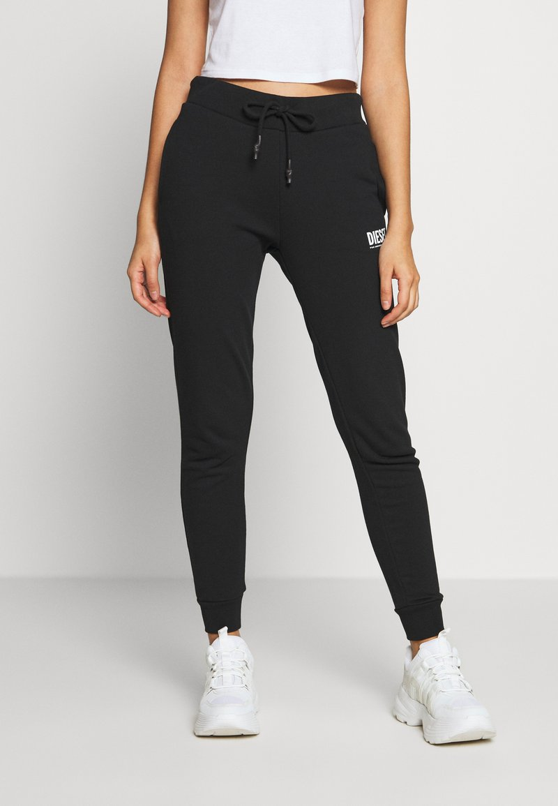 Diesel - VICTADIA TROUSERS - Tracksuit bottoms - black