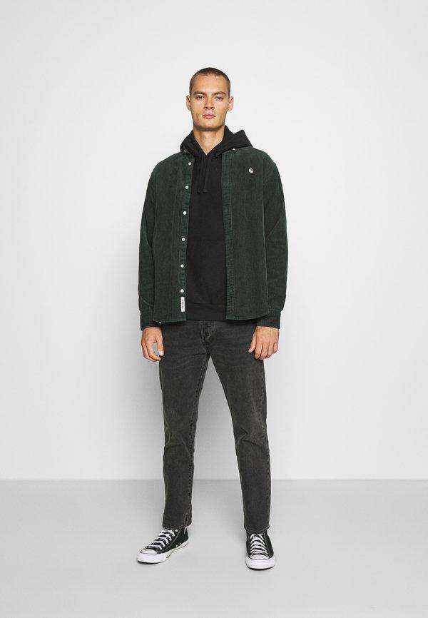 Carhartt WIP HOODED AMERICAN SCRIPT - Bluza z kapturem - black/czarny Odzież Męska YIIN