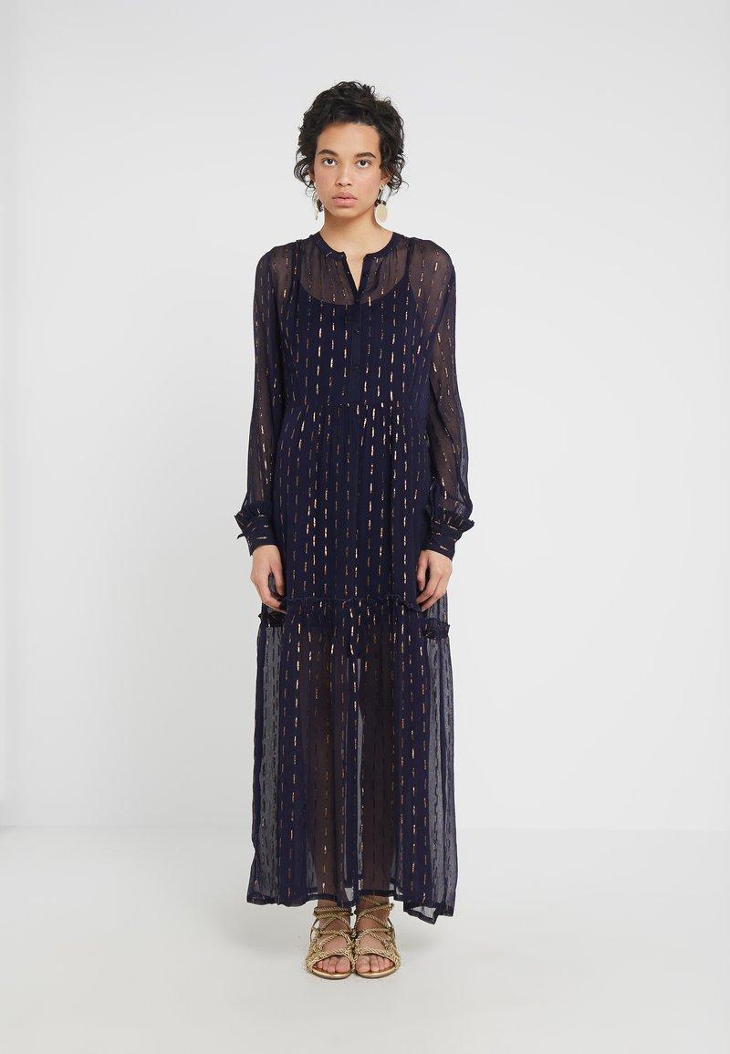 CECILIE copenhagen - SUZIE DRESS - Maxi dress - night