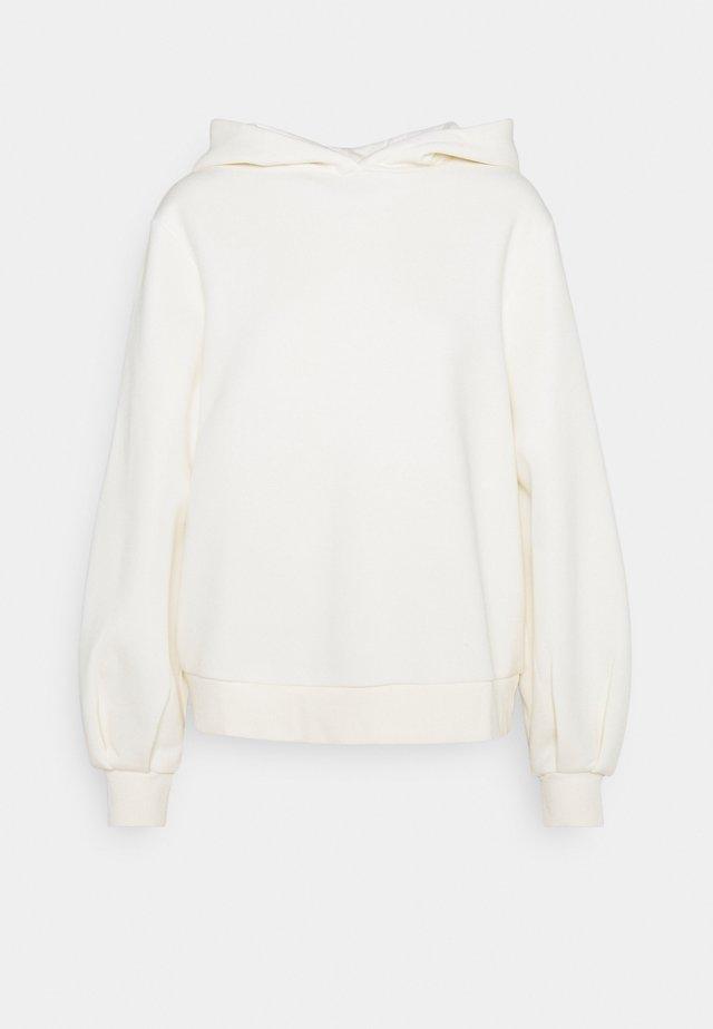 HOODIE - Bluza z kapturem - off white