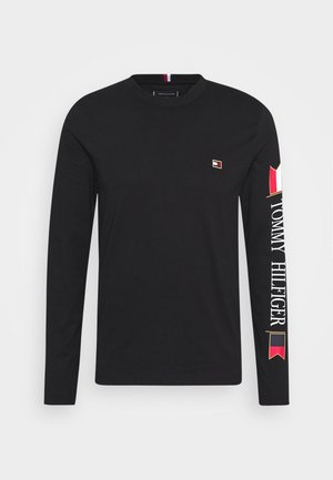 MIRRORED FLAGS LONG SLEEVE  - Langarmshirt - black