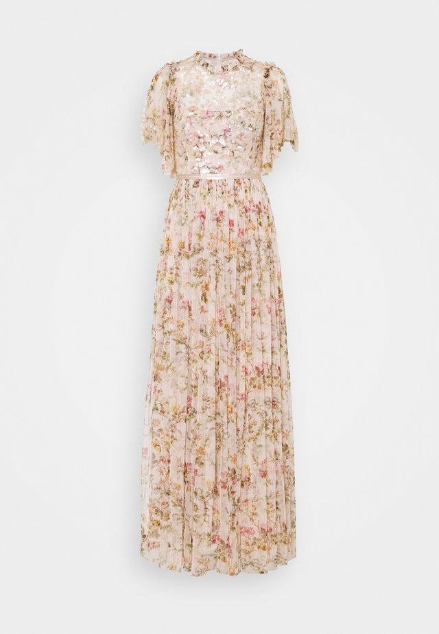 HONESTY GARLAND BODICE GOWN - Společenské šaty - strawberry icing