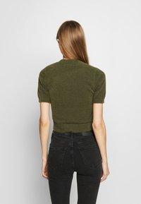 Glamorous - T-shirt print - khaki - 2