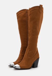 Even&Odd - High heeled boots - dark brown - 2