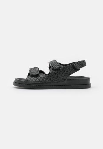 LUXURY - Sandals - black