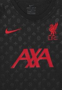 Nike Performance - FC LIVERPOOL DRY - Club wear - black/gym red - 3