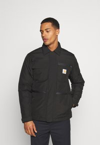 Carhartt WIP - GORE TEX MICHIGAN COAT - Light jacket - black - 0