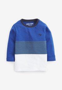 Next - 3 PACK COLOURBLOCK - Langærmede T-shirts - blue - 4