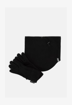 WINTER SET - Fingervantar - black