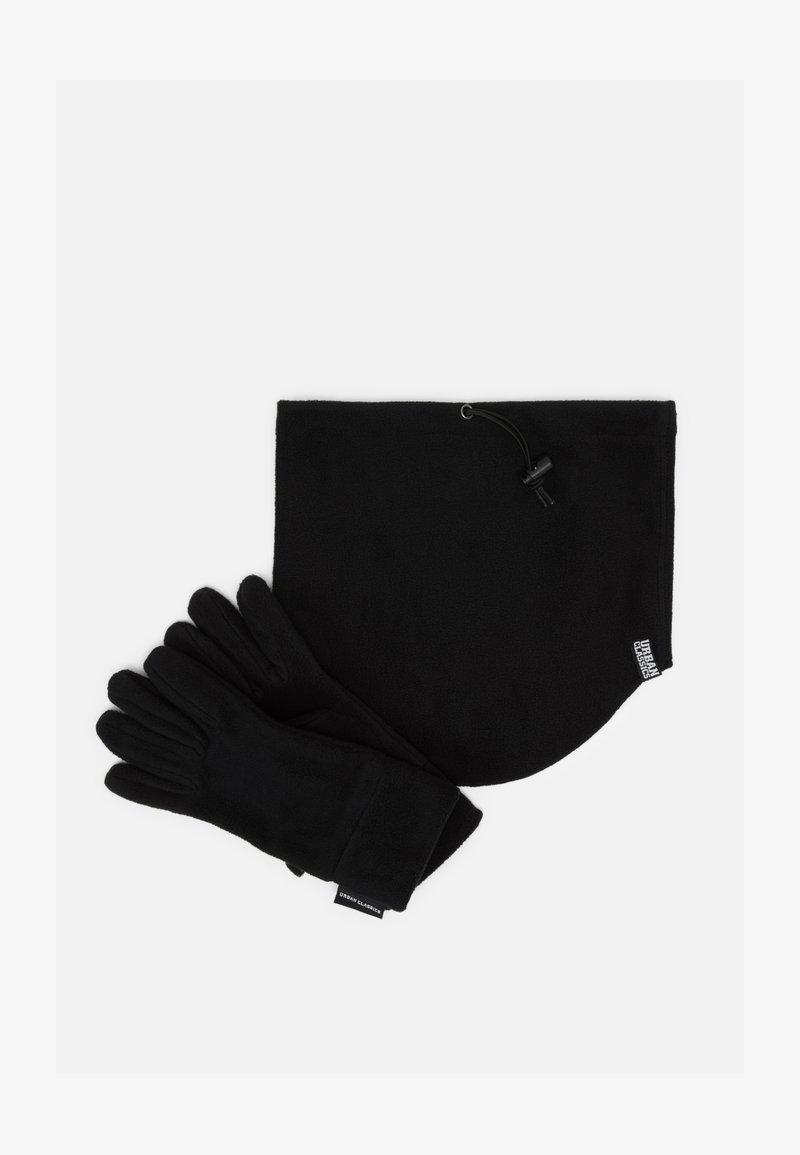 Urban Classics - WINTER SET - Gloves - black
