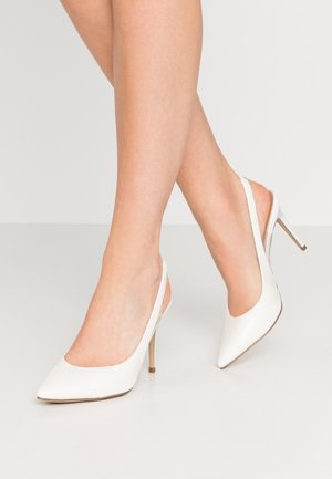 SIMPLY - Høye hæler - white