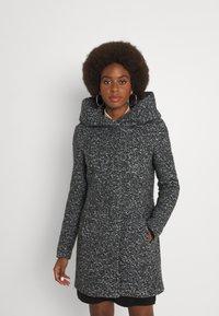 ONLY Tall - ONLSEDONA COAT - Krátký kabát - dark grey - 0