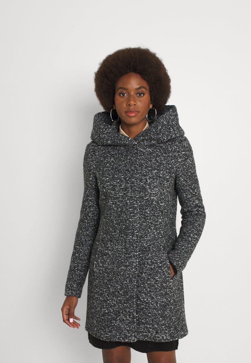 ONLY Tall - ONLSEDONA COAT - Krátký kabát - dark grey
