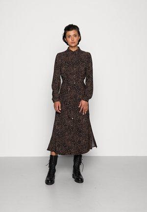 MIDI  DRESS - Day dress - beaver fur