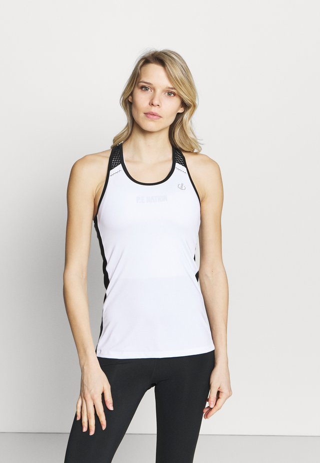 YOU'RE A GEM VEST - Débardeur - white/black