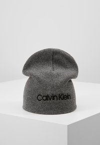 Calvin Klein - CLASSIC BEANIE - Muts - grey - 0