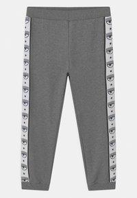 CHIARA FERRAGNI - TAPE ID - Tracksuit bottoms - grey - 0