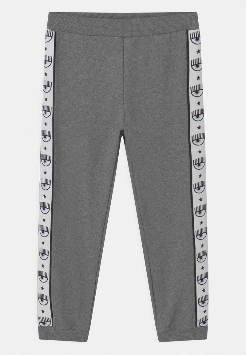 CHIARA FERRAGNI - TAPE ID - Tracksuit bottoms - grey