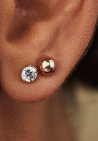 Isabel Bernard - 14 KARAT GOLD  - Boucles d'oreilles - roségold - 1