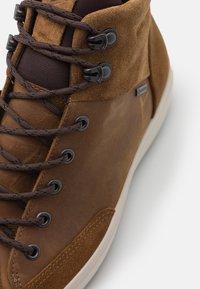 ECCO - Zapatillas altas - camel - 5