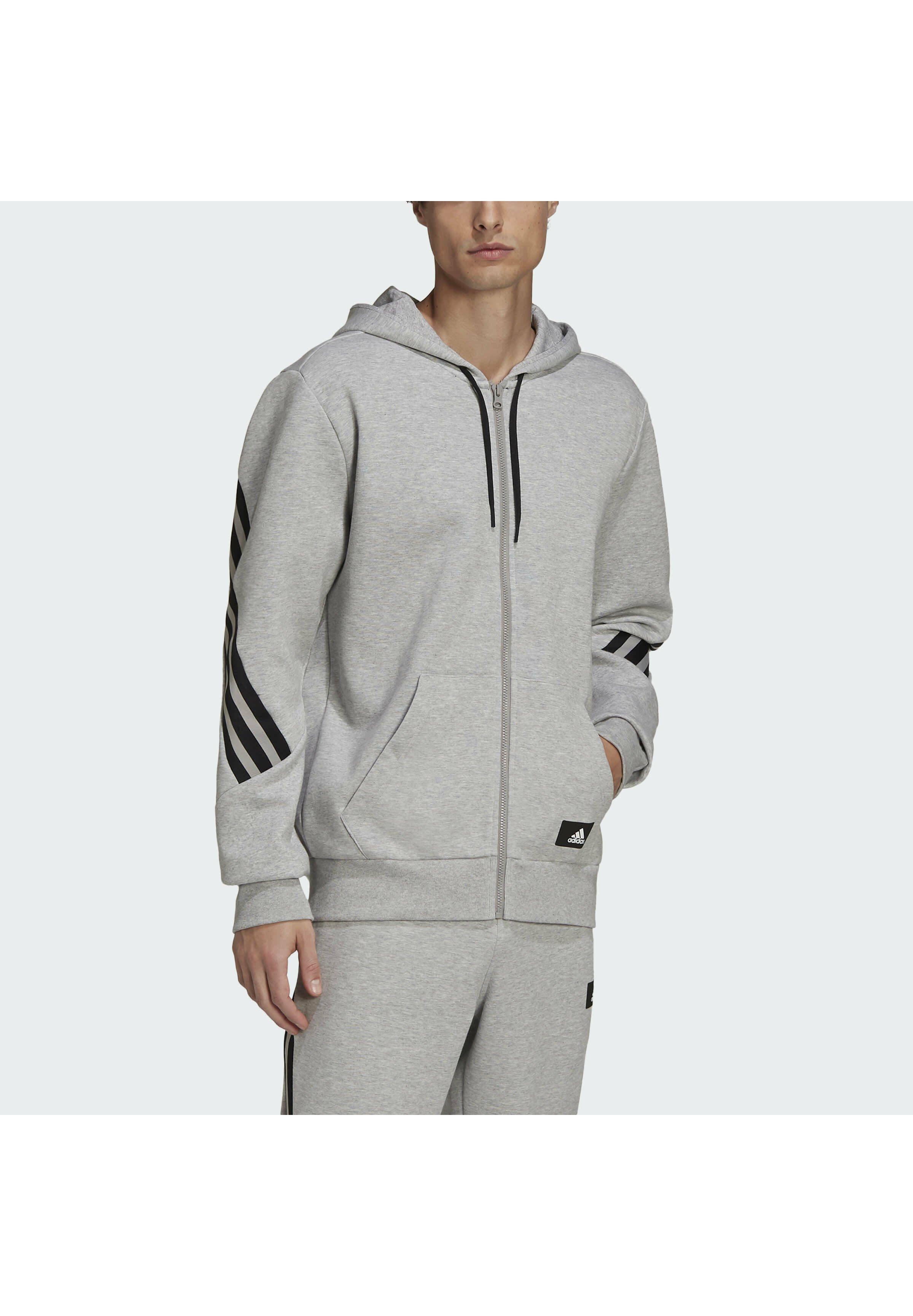 Men 3 STRIPES FULL ZIP FUTURE ICONS - Zip-up sweatshirt