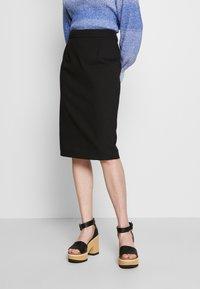 Emporio Armani - Pencil skirt - black - 0