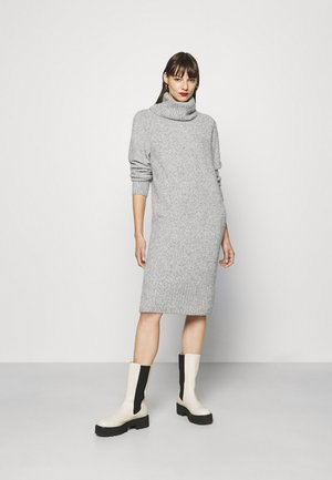 QUIRA - Jumper dress - hazy fog melange