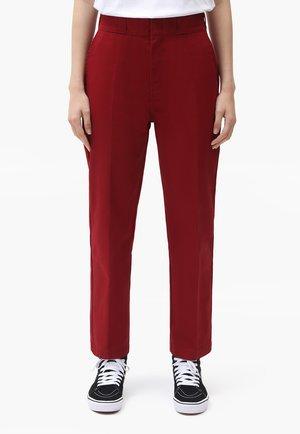 ELIZAVILLE - Trousers - biking red