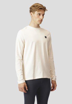 BASIC - Pitkähihainen paita - ecru
