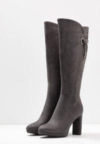 Laura Biagiotti - Stivali con i tacchi - grey - 4