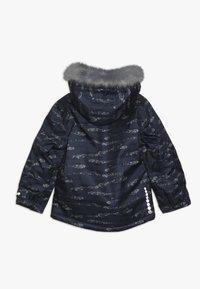 Minymo - SNOW JACKET HERRINGBONE - Veste d'hiver - blue - 1