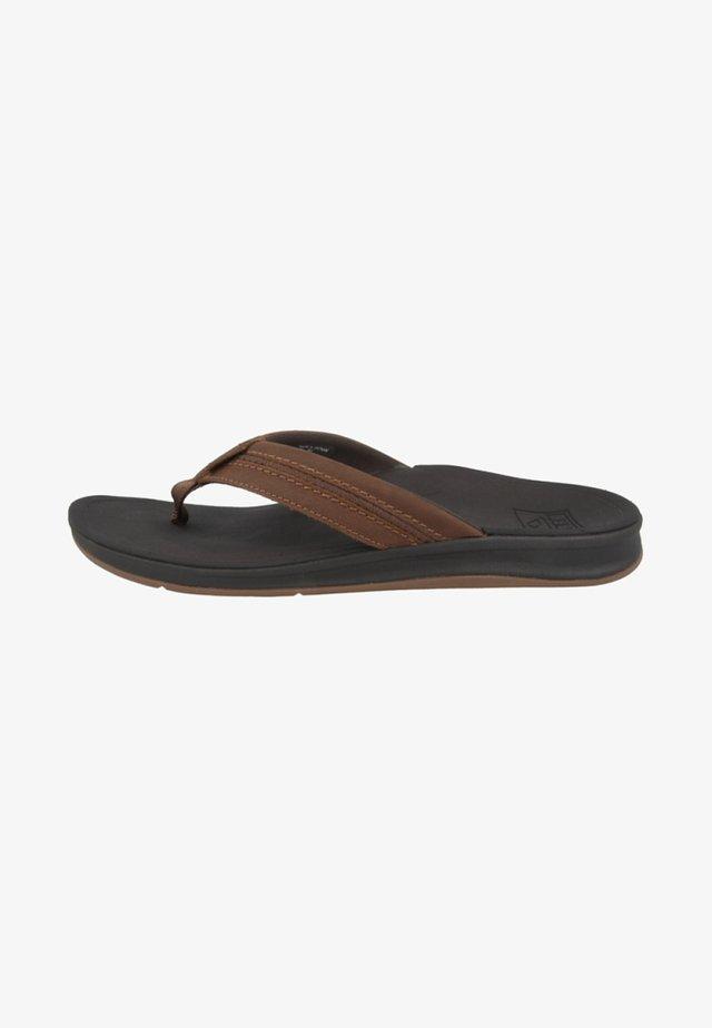 ORTHO-BOUNCE COAST - Pool shoes - brown