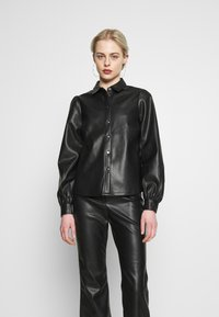 Vero Moda - VMSERENA SHIRT - Camisa - black - 0