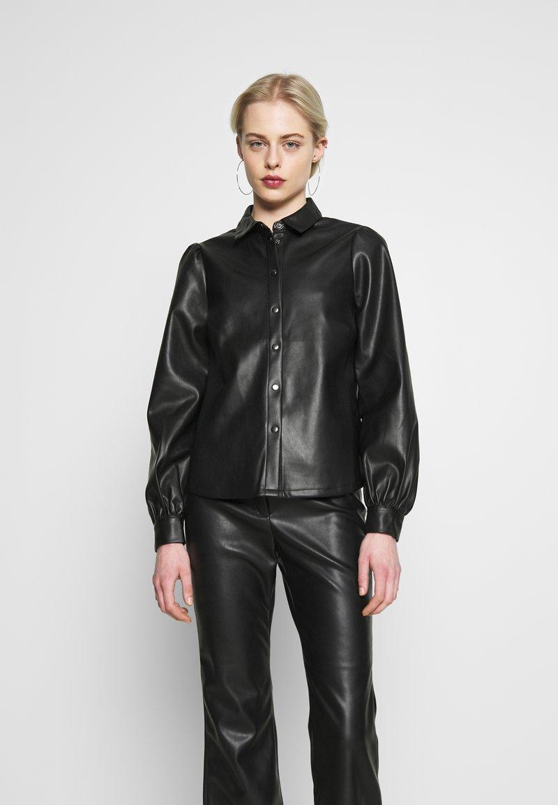 Vero Moda - VMSERENA SHIRT - Camisa - black